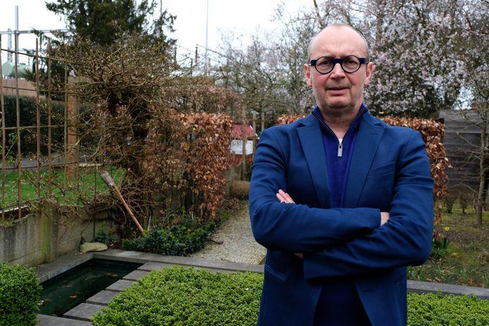 Voorzitter Marc Vanden Eynde van de Lierse Maatschappij voor de Huisvesting