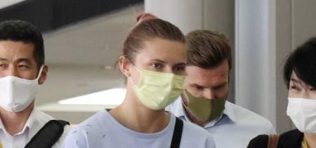 """L'athlète bélarusse Tsimanouskaya fait escale à Vienne et se rendra à Varsovie """"pour sa sécurité"""""""