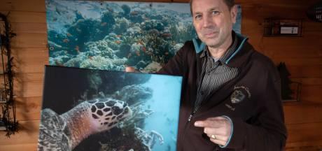 Hoe Kees (56) in Thailand een schildpad met zijn naam kreeg: 'Droom van elke duiker'