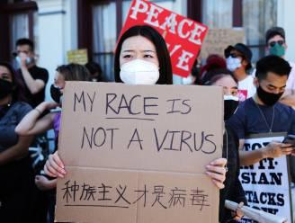 Betogingen tegen anti-Aziatisch geweld in de VS