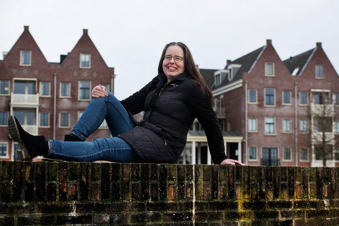 Stadsdichter Ria van Koppen.
