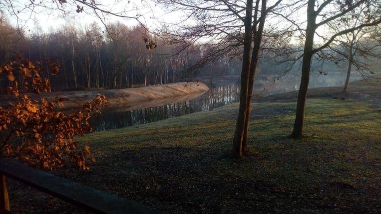 In deze idyllische omgeving zal winterbar GezoardeBos volgende week vrijdag de eerste keer de deuren openen.