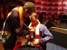 Ivo Smits onderscheiden met Reverence in de Orde van de Kiet