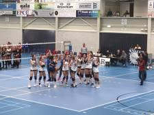 Volleybalsters Sliedrecht Sport veroveren vijfde Supercup op een rij