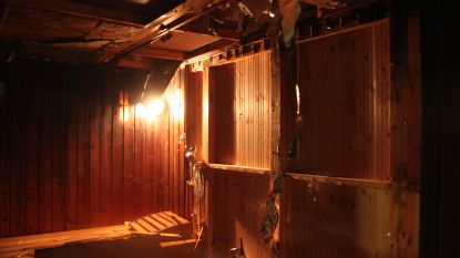 Zwembad Lagaeplein Heule ontruimd na saunabrand