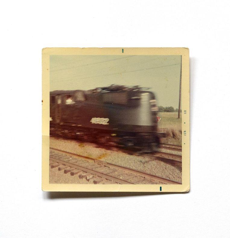 Een van de amateurbeelden die Rein Jelle Terpstra terugvond bij Amerikanen thuis. Hier een van Mary Sue Newton uit Newark. Beeld