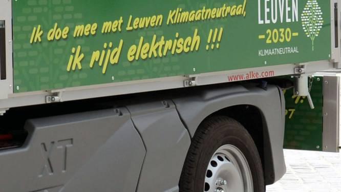 Stad Leuven schakelt over op elektrische dienstwagens
