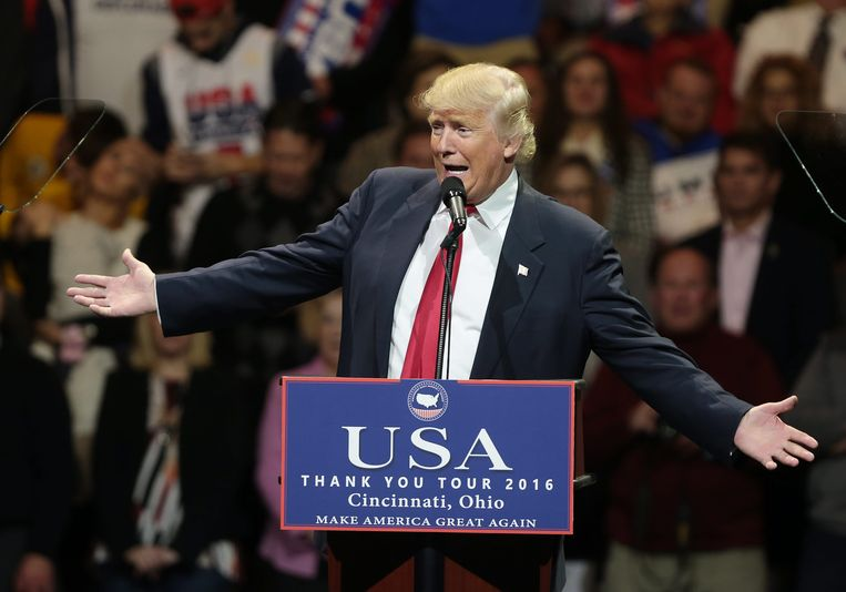 Donald Trump.  Beeld EPA