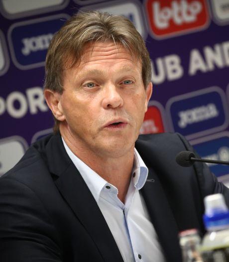 Vercauteren over zijn trainersrol bij Anderlecht: 'Alles is teamwork'