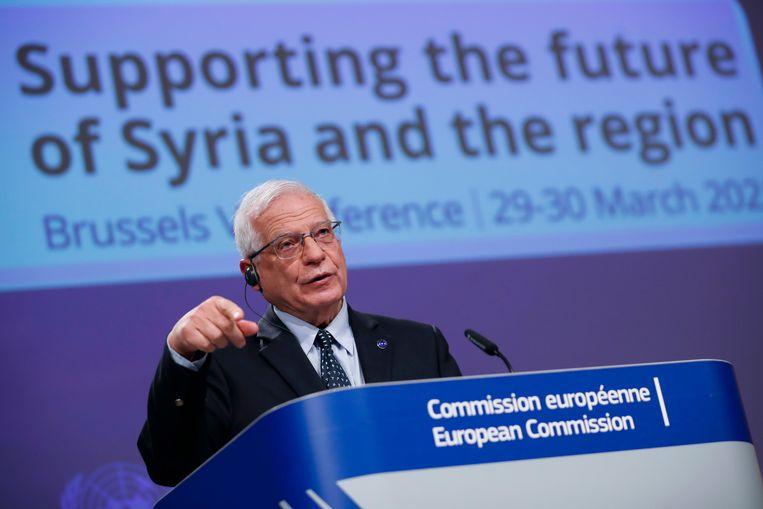 Josep Borrell, buitenlandchef van de EU. Beeld AP