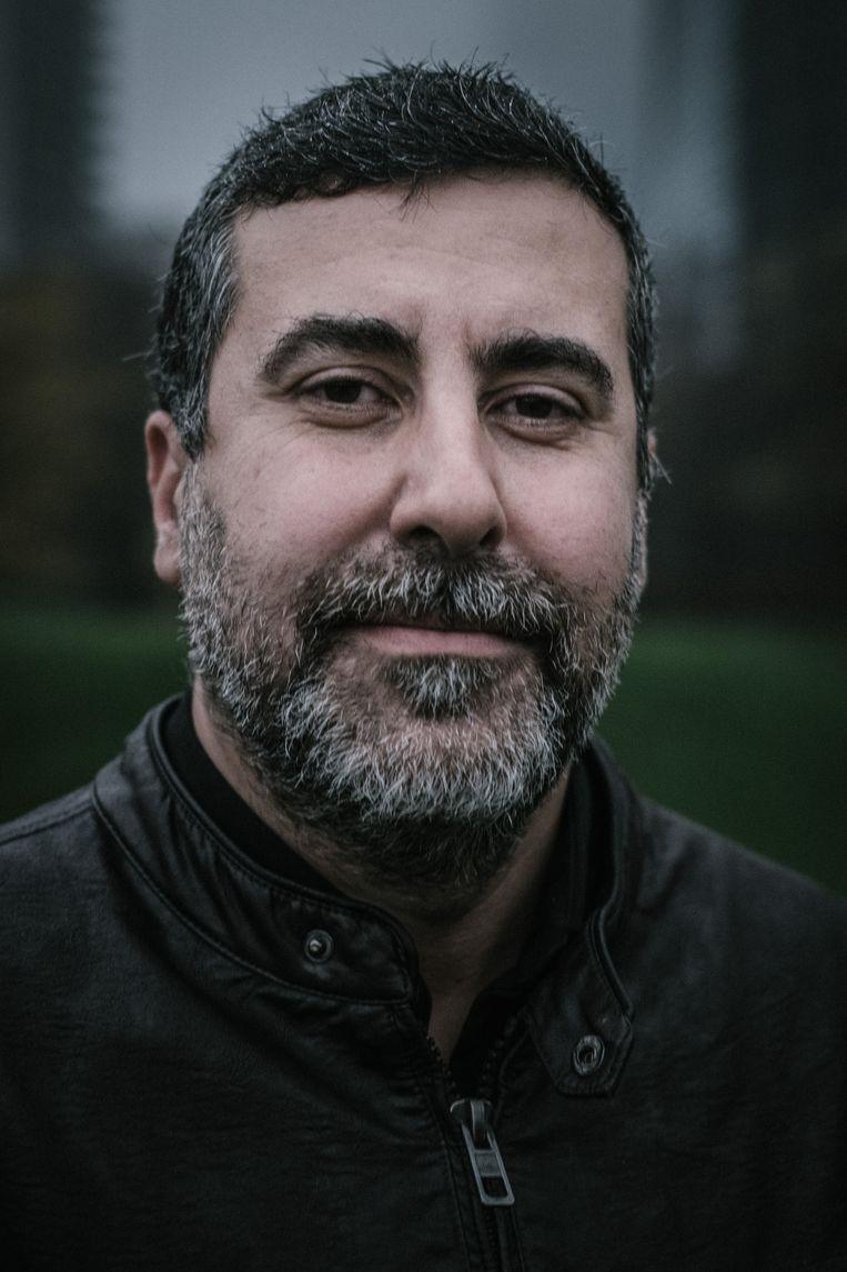 Dyab Abou Jahjah wil een Brusselse grassrootsbeweging, voor de regionale verkiezingen in 2019. Beeld Wouter Van Vooren