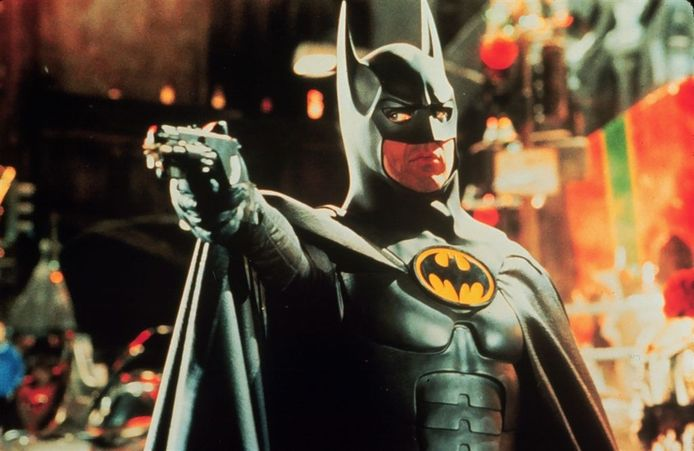 Michael Keaton als Batman.