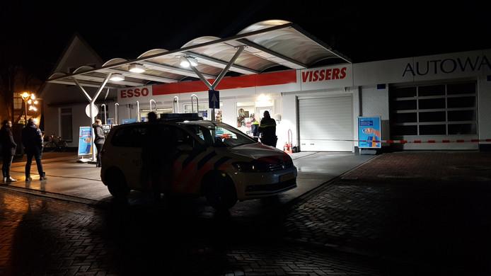 De meest recente overval was woensdagavond op het tankstation aan de Pater Vogelstraat in Beek en Donk. Drie weken eerder was hier ook al een overval.