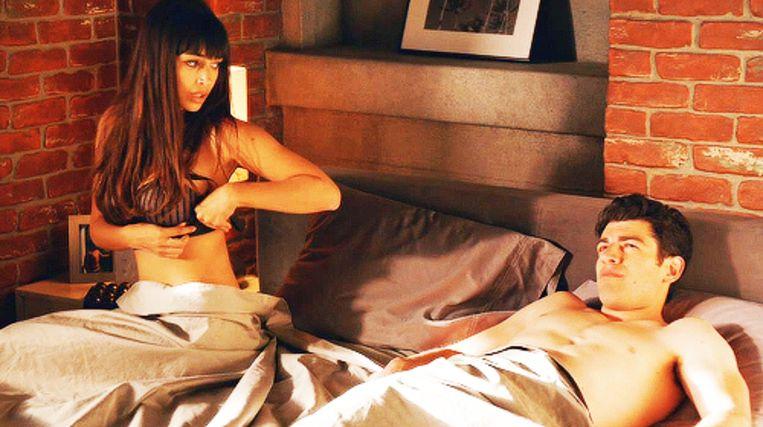 """Smith en Cece in """"New Girl"""" na een (veilige?) vrijpartij"""
