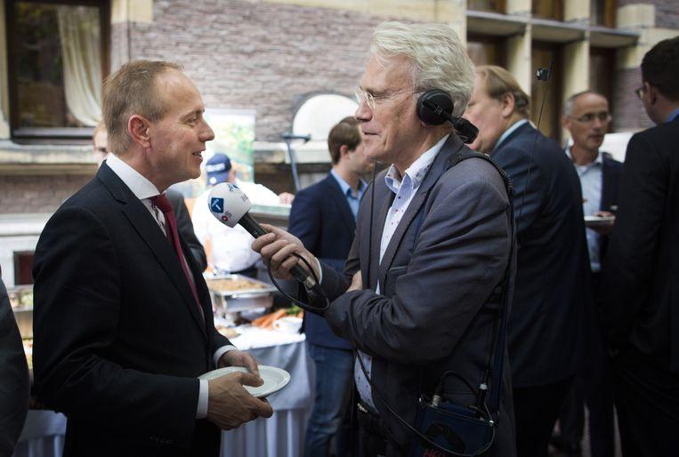 SGP-leider Kees van der Staaij. Beeld Freek van den Bergh