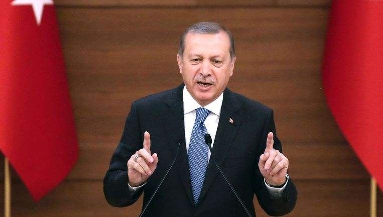 President Recep Tayyip Erdogan. Beeld afp