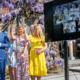 Prinses Beatrix verrast door mee te proosten tijdens de Nationale Toost