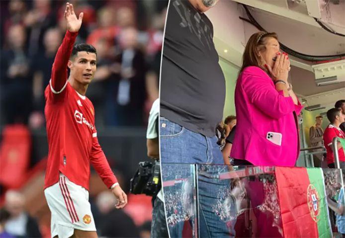 Ronaldo et sa maman