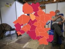 KAART | Bizarre piek coronacijfers Noord- en Oost-Gelderland na storing, Urk koploper in de regio
