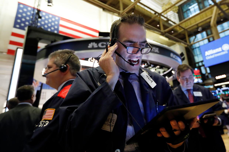 De aandelenmarkt van New York.