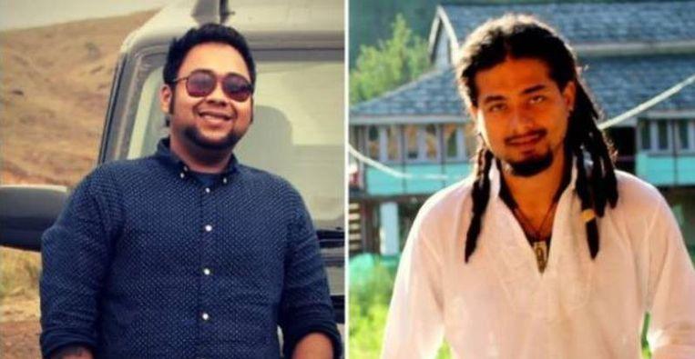 Abijeet Nath en Nilotpol Das