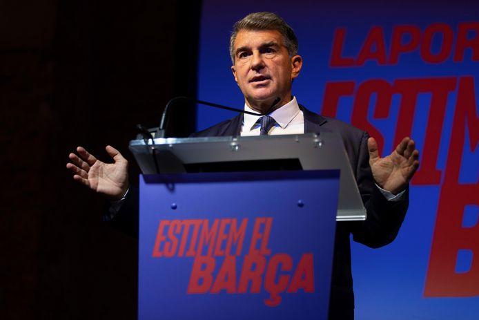 Joan Laporta keert terug als voorzitter van FC Barcelona.