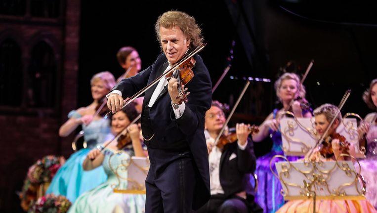 Hoewel Rieu al 32 jaar optreedt met zijn Johan Strauss Orkest is zijn populariteit bepaald niet tanende. Beeld anp