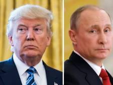 Trump feliciteerde Poetin ook al kreeg hij in hoofdletters advies dat niet te doen