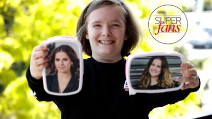 """Licht autistische Jolien is superfan van Laura Tesoro: """"Door haar ben ik m'n grenzen gaan opzoeken. En kijk waar ik nu sta"""""""
