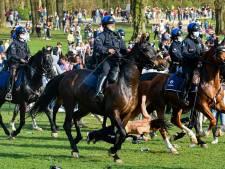 La Boum: une jeune femme s'effondre après avoir été violemment percutée par un cheval de la police
