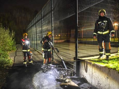 Brandje in Alphens Weteringpark