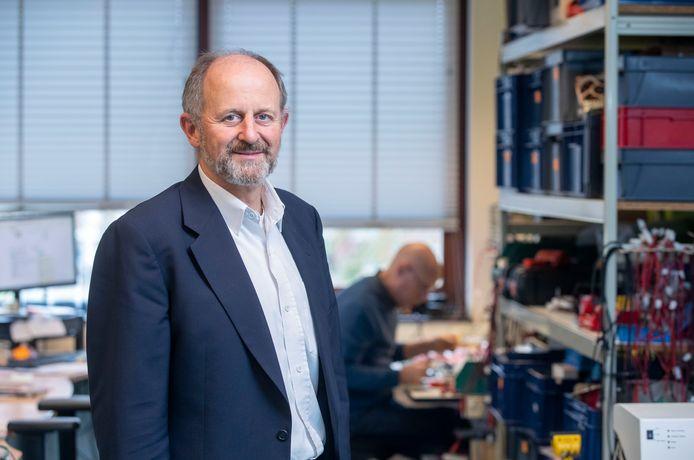 Lucas Noldus, oprichter en ceo van Noldus Information Technology uit Wageningen.