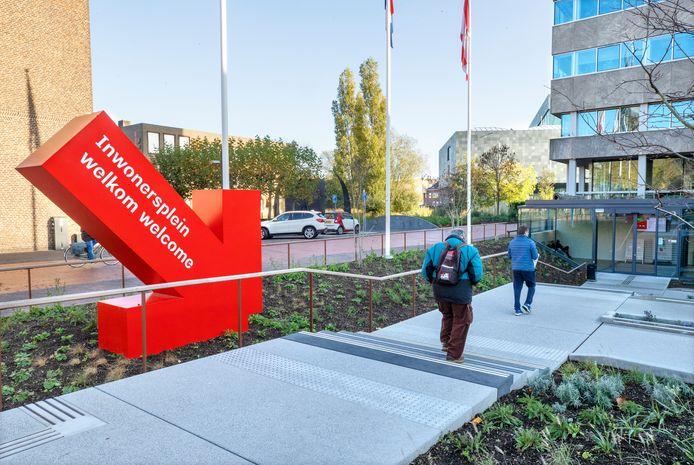 Het Inwonersplein van het Stadhuis in Eindhoven