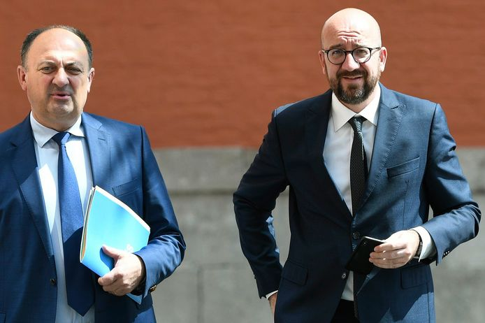 Willy Borsus et Charles Michel .