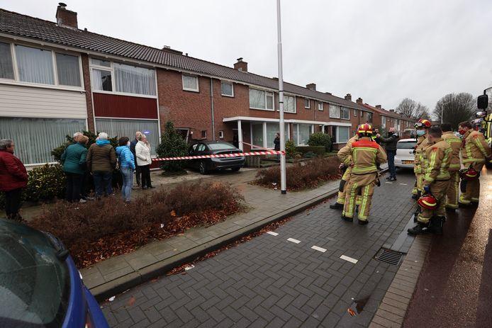 Vrouw ramt woning in Eindhoven.
