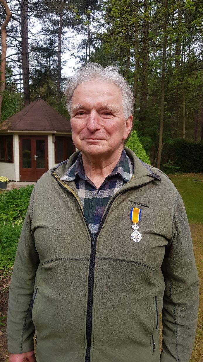 Jaap Commandeur benoemd tot Lid in de Orde van Oranje-Nassau.