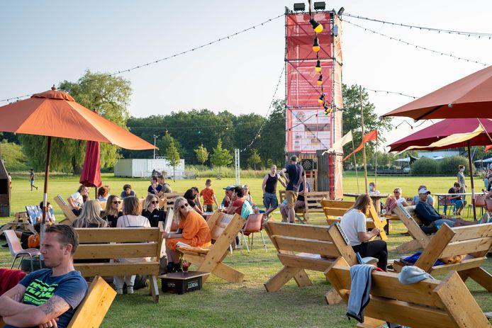 PUURS Bar Baraque in het Landschapspark Fort Liezele