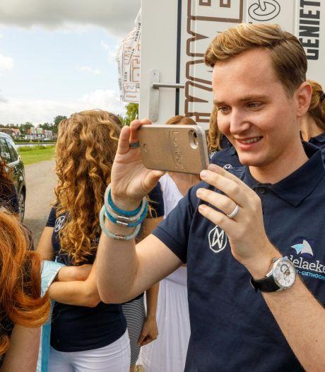 Christiaan (26) uit Steenwijk is regelneef tijdens missverkiezing