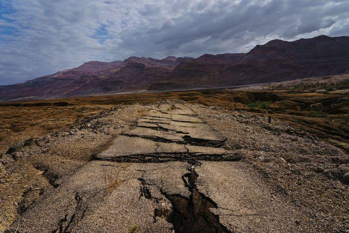 Jordanië kampt met droogte omdat het tijdens de winter te weinig regende.