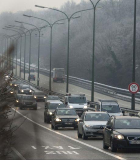 Le parc automobile belge émet plus de CO2 qu'en 1990