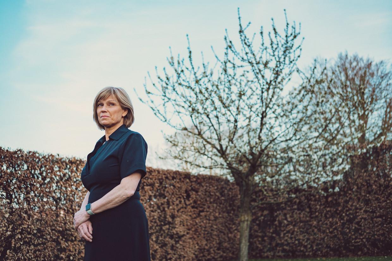 Dominique Roodhooft: ' Als de testen achterblijven zullen we de uitbraken niet onder controle krijgen.' Beeld Wouter Van Vooren