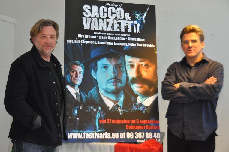 Frank Van Laecke en Dirk Brossé werken samen aan Sacco & Vanzetti.