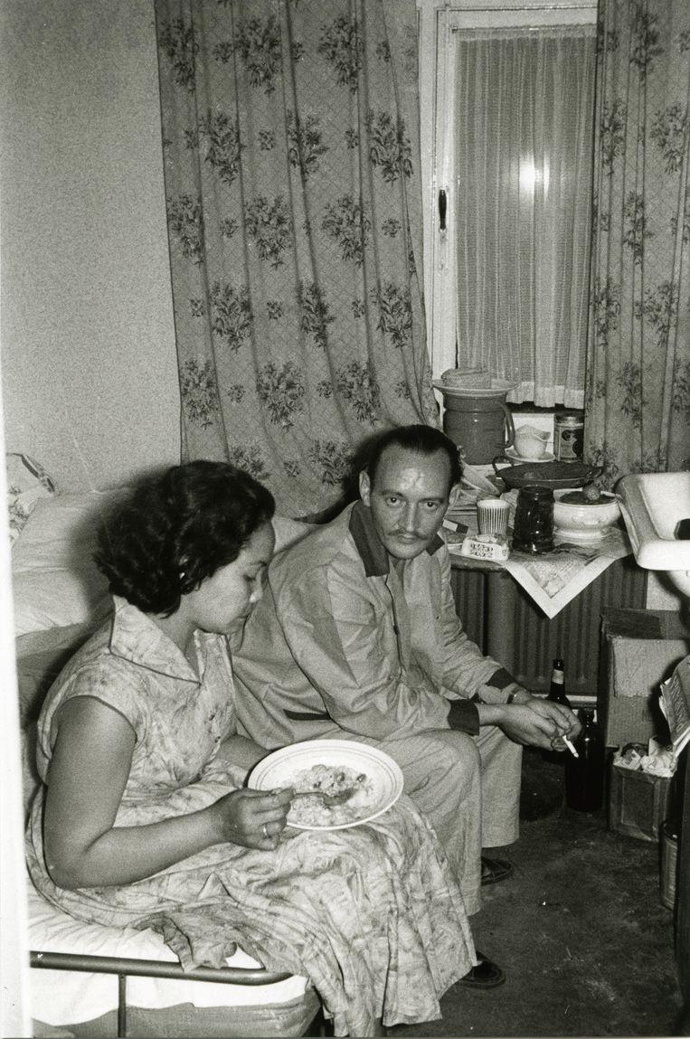 Veel families kwamen terecht in een pension. Beeld Jean W.G. Retel Helmrich