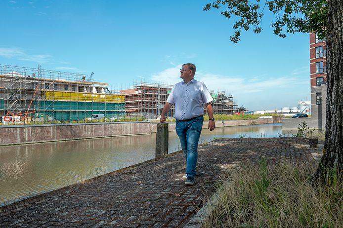 Wethouder Patrick van der Velden heeft Bergen op Zoom de afgelopen twee raadsperiodes letterlijk zien groeien.