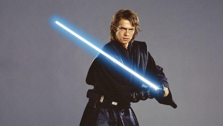 Hayden Christensen als Anakin Skywalker Beeld Rv
