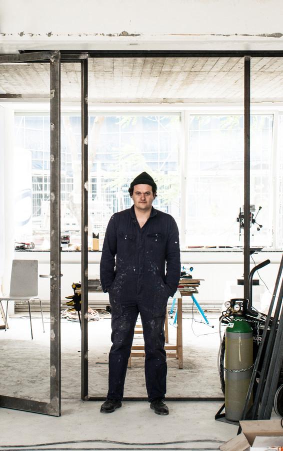 Architect/kunstenaar Enzo Valerio.