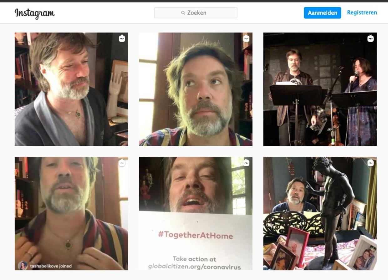 rufus wainwright roberecitals instagram corona Beeld rv
