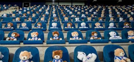 15.000 KiKa-knuffelberen in stadion bij duel tussen Heerenveen en FC Emmen