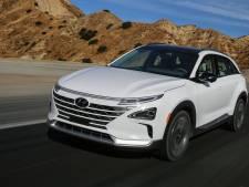 Hyundai Nexo rijdt op waterstof, want auto's met accu's zijn zó 2017