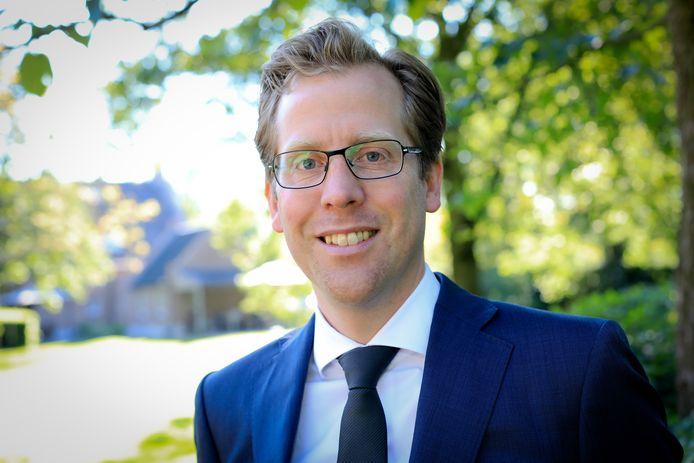 VVD-gedeputeerde Christophe van der Maat.